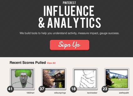 Pinreach, influencia y analítica para Pinterest