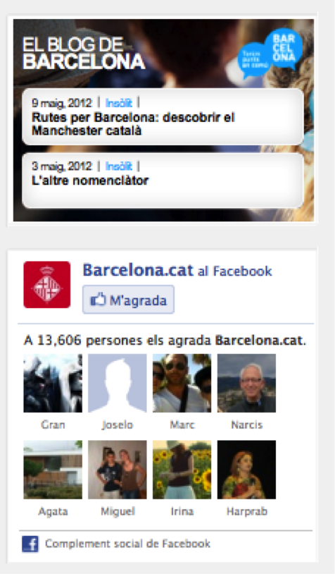 widgets ayuntamiento barcelona