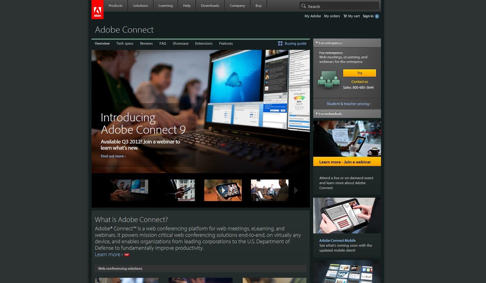 herramienta webinario Adobe