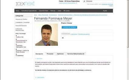 consultor icexnext de tecnología
