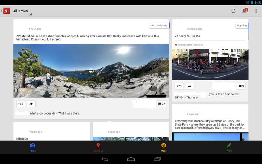 gestor de fotos de Google+