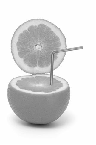 Ejemplo de un negocio mínimo viable de zumo de naranja
