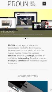 web responsiva empresa avilés