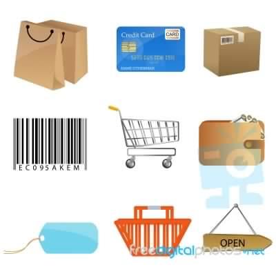 e-commerce: iconos de venta
