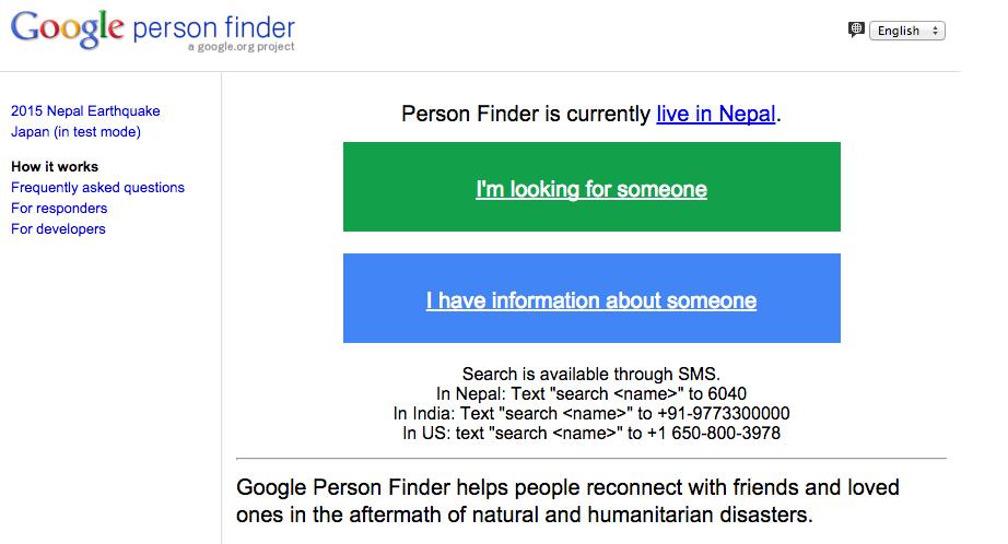 google-person-finder-nepal