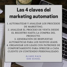 4 claves para automatizar tu mercadeo