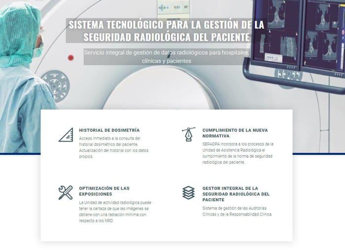 página web para centros médicos y sanidad