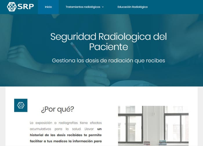 diseño y desarrollo para una web sobre radiología