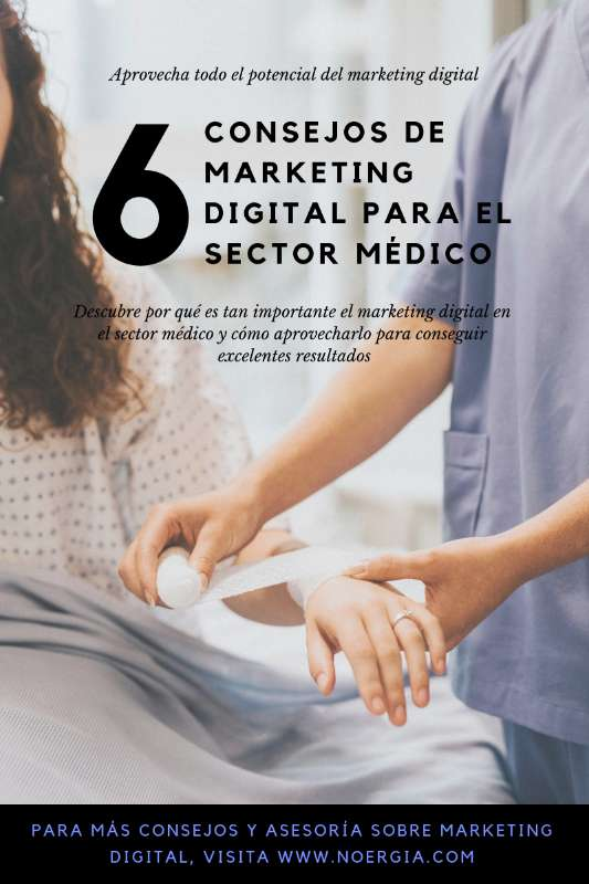 Marketing digital sector médico