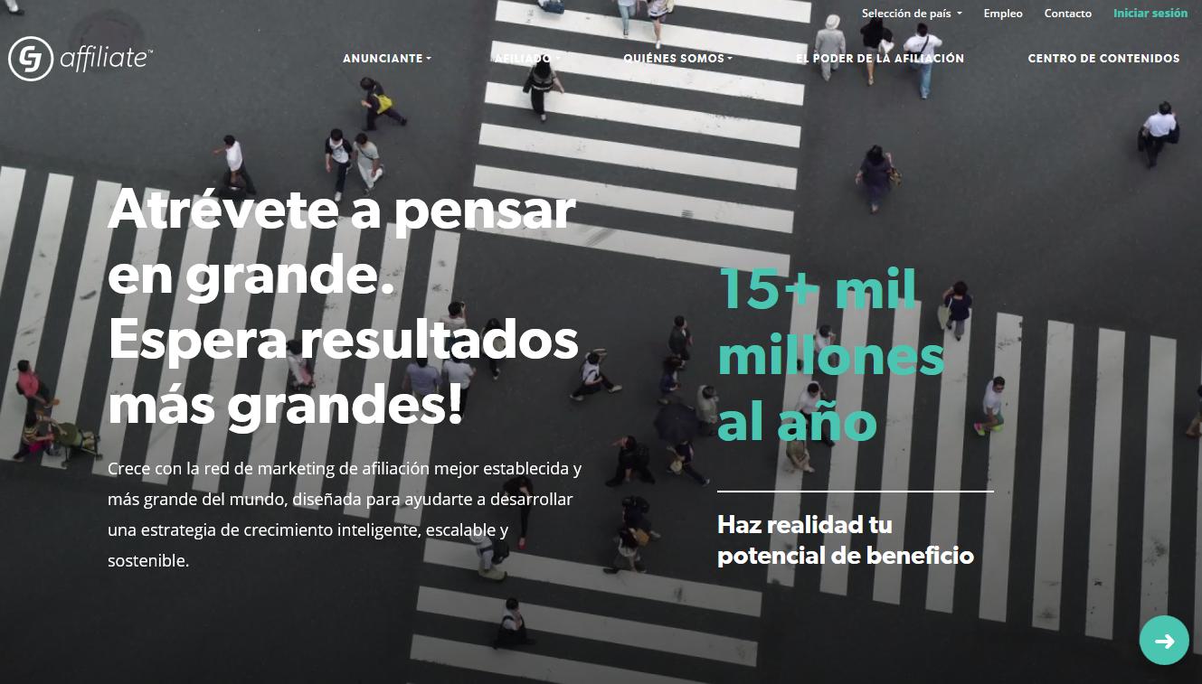 cj affiliate red de afiliados para internacionalizar tu e-commerce