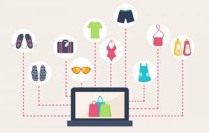 e-commerce. pocos productos