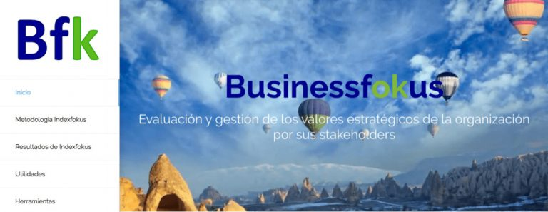 web de consultora de negocio